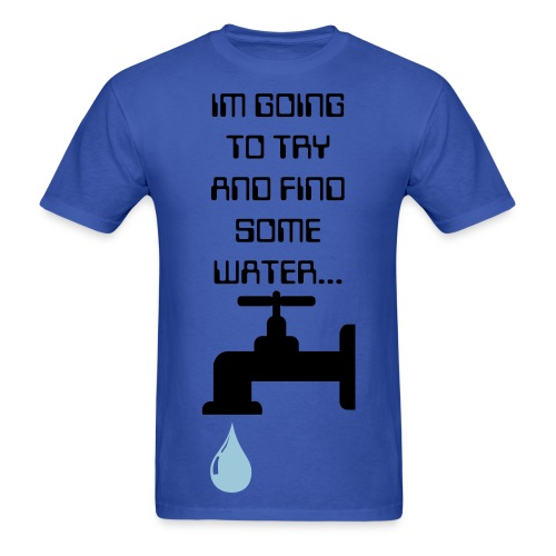 Water T-Shirt - Men - Men's T-Shirt