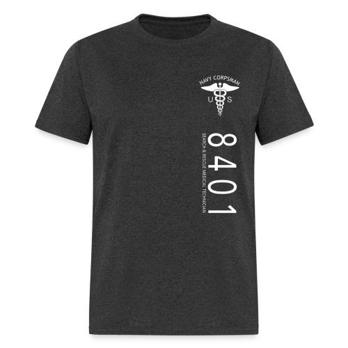 8401 NAVY CORPSMAN - NEC STRIPE - Men's T-Shirt