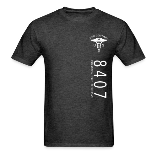 8407 NAVY CORPSMAN - NEC STRIPE - Men's T-Shirt