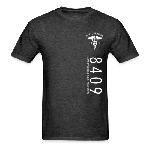8409 NAVY CORPSMAN - NEC STRIPE - Men's T-Shirt