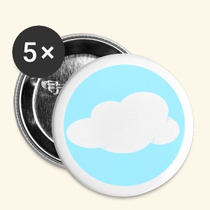 Cloud Nest Button Pins - Small Buttons