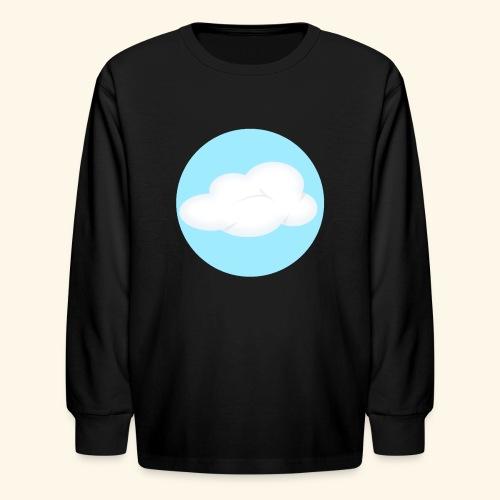 Kids Black Cloud Nest Long Sleeved Shirt - Kids' Long Sleeve T-Shirt