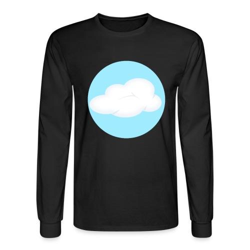 Mens Black Cloud Nest Long Sleeved Shirt - Men's Long Sleeve T-Shirt