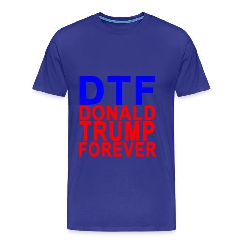 Donald trump funny T-shirt - Men's Premium T-Shirt