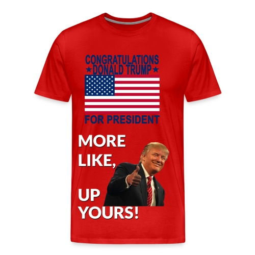 Donald trump for president T-shirt - Men's Premium T-Shirt