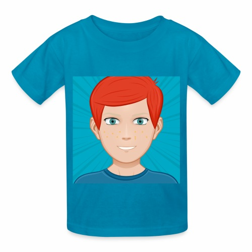 BLUE ANIMATED NIGNAZ T SHIRT FOR KIDS AND BABIES - Kids' T-Shirt