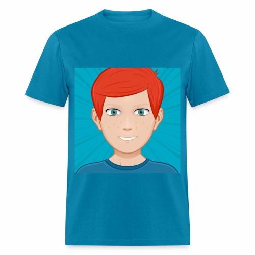 BLUE ANIMATED NIGNAZ T SHIRT FOR MEN - Men's T-Shirt