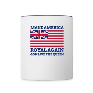 Make America Royal Again - Contrast Coffee Mug