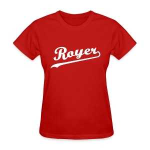 Royer: G.O.A.L. Hunter - Ladies' T-shirt - Women's T-Shirt