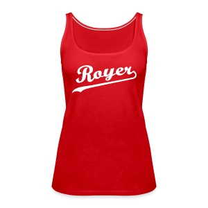 Royer: G.O.A.L. Hunter - Ladies' Tank Top - Women's Premium Tank Top