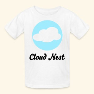 Kids White Cloud Nest T-Shirt - Kids' T-Shirt