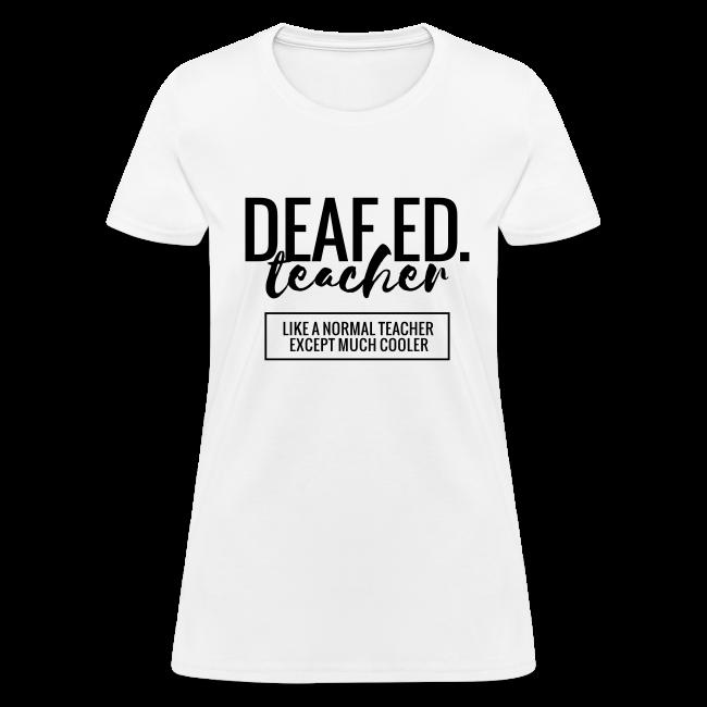 Cool Deaf Education Teacher