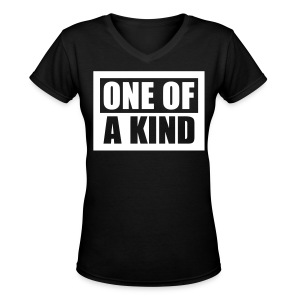 [BB] One of a Kind - Women's V-Neck T-Shirt