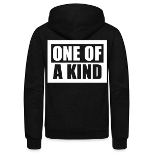 [BB] One of a Kind - Unisex Fleece Zip Hoodie by American Apparel