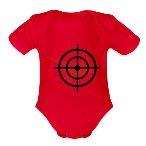 Baby Target - Organic Short Sleeve Baby Bodysuit