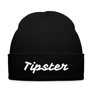 Tipster Beanie - Knit Cap with Cuff Print
