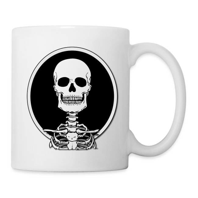 Skeleton mug-o-joe