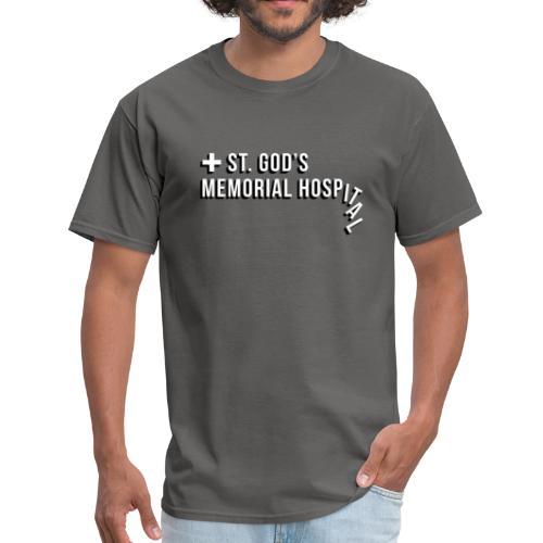 St God's Memorial Hospital in White - Men's T-Shirt