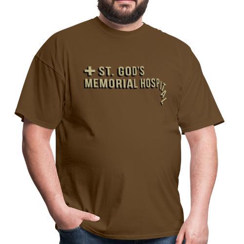 St God's Memorial Hospital in Gold - Men's T-Shirt