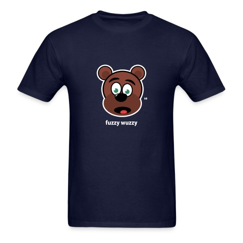 Fuzzy Wuzzy - Men's T-Shirt