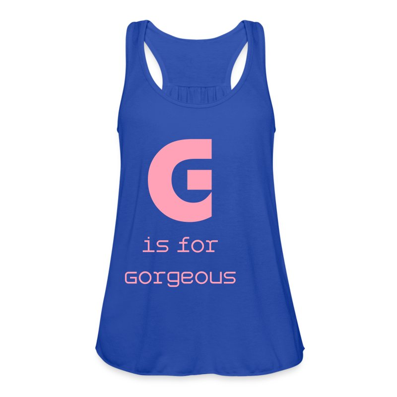g  signature - Women's Flowy Tank Top by Bella