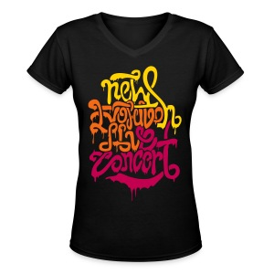 [2NE1] New Evolution Concert - Women's V-Neck T-Shirt