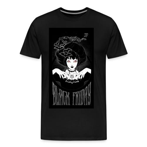 Mens Shirt ft. Art by Izzy Joy - Men's Premium T-Shirt