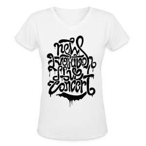 [2NE1] New Evolution Concert - Women's V-Neck T-Shirt