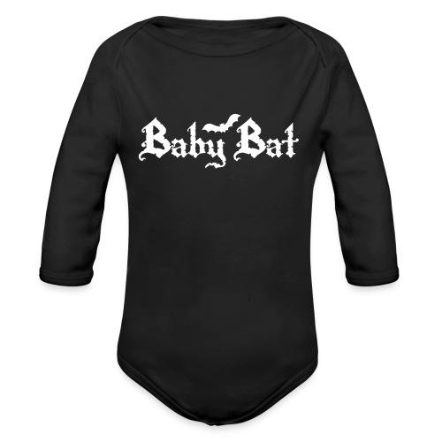 Baby Bat Babies' Onesie - Organic Long Sleeve Baby Bodysuit