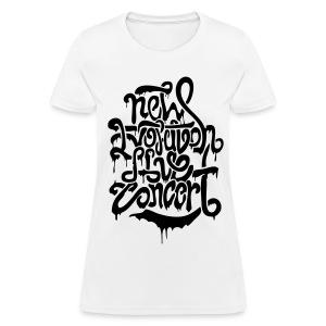 [2NE1] New Evolution Concert - Women's T-Shirt