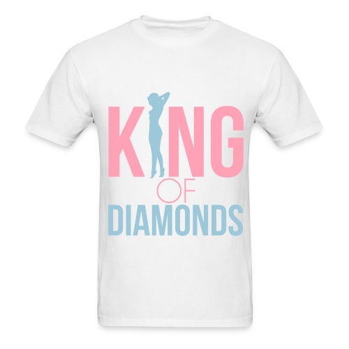 King of diamonds (south-Beach) - Men's T-Shirt