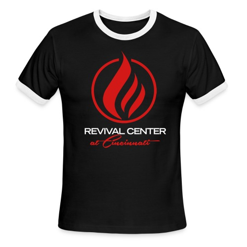 Revival Center Ringer Shirt  - Men's Ringer T-Shirt