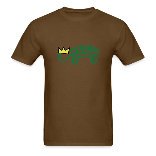 Turtle with a crown - Men's T-Shirt