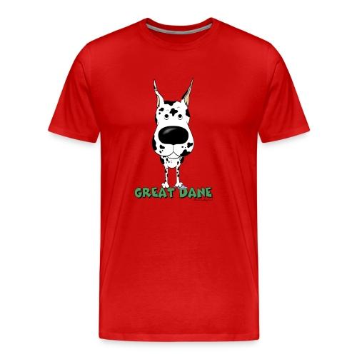 Big Nose Great Dane - Men's Premium T-Shirt