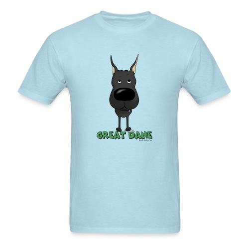 Big Nose Great Dane - Men's T-Shirt