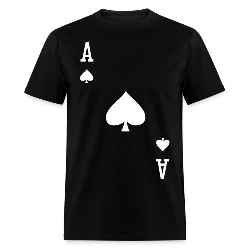 Ace of Spades II - Men's Black - Men's T-Shirt