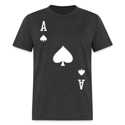 Ace of Spades II - Men's Heather Black - Men's T-Shirt