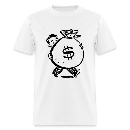 Men's T-Shirt - shirtfan,moneybags,money,man,hustler,dollar sign