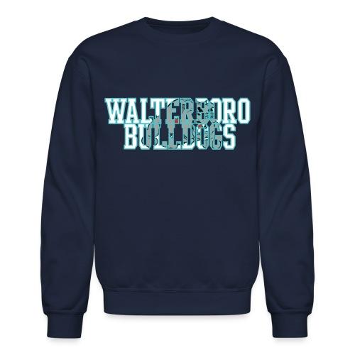 Walterboro Bulldogs DK Blue Sweat Shirt - Crewneck Sweatshirt