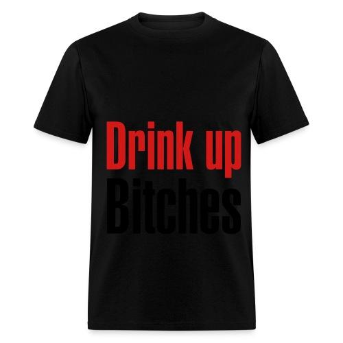 Chrome-Lets Drink - Men's T-Shirt
