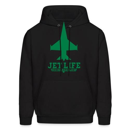Mens Jet Life To The Next Life Hoodie - Men's Hoodie