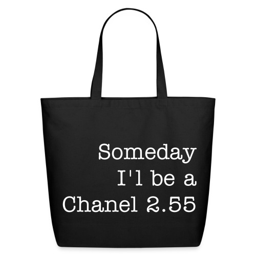 Chanel Wannabe - Eco-Friendly Cotton Tote