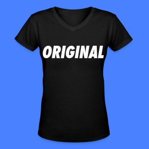 Original Women's T-Shirts - stayflyclothing.com - Women's V-Neck T-Shirt