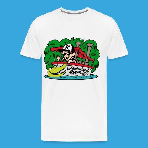 Justin of the JUNGLE! (Plus sizes / Premium) - Men's Premium T-Shirt