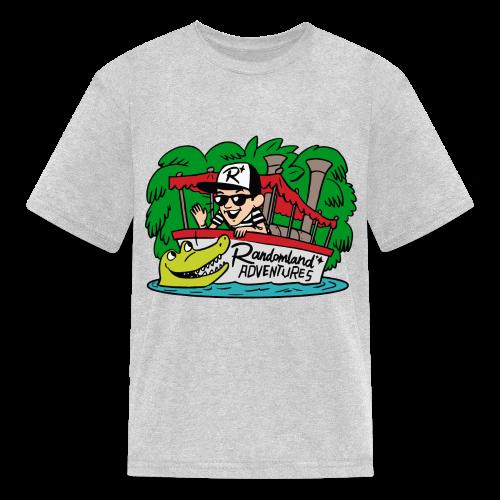Justin of the JUNGLE! (Kids) - Kids' T-Shirt