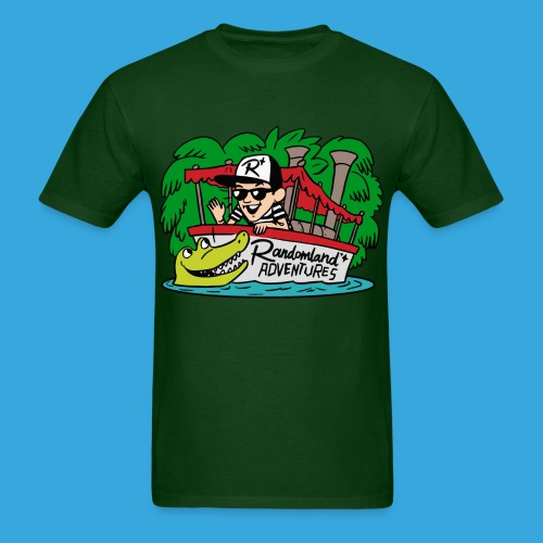 Justin of the JUNGLE! (T-shirt!) - Men's T-Shirt