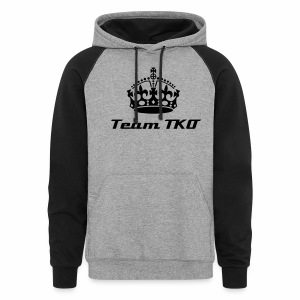 Team TKO Two-Tone Sweatshirt  - Colorblock Hoodie