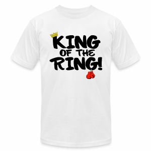 King of the Ring Jersey Shirt  - Men's T-Shirt by American Apparel