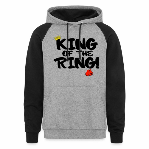 King of the Ring Hoodie V-3 - Colorblock Hoodie