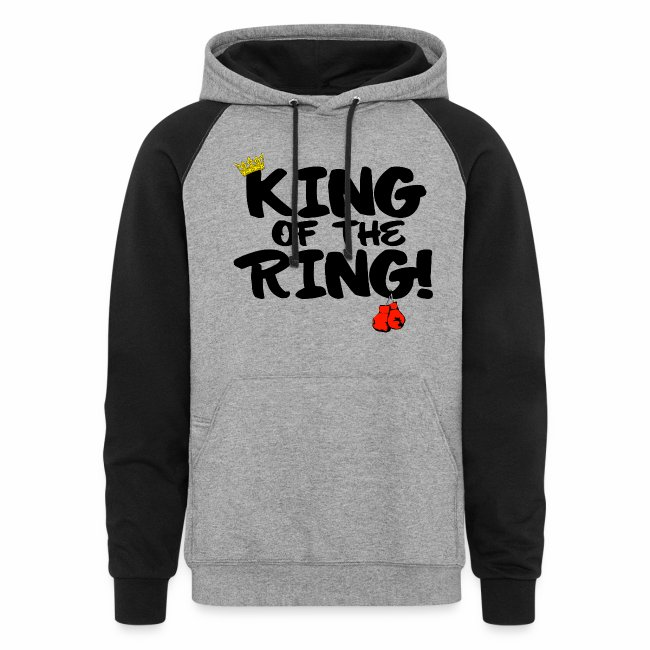 King of the Ring Hoodie V-3